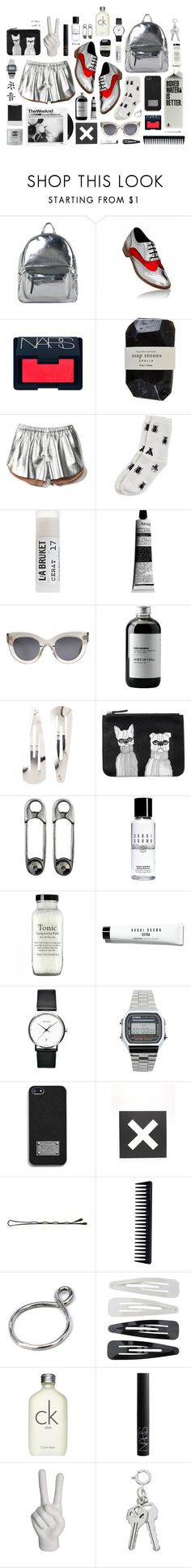 """""""LUKE GRANT MULLER x OUTBURSTS"""" by outbursts ❤ liked on Polyvore featuring Asya Malbershtein, NARS Cosmetics, Cassia, Clover Canyon, Monki, Toast, Aesop, CÉLINE, Sort of Coal and Adia Kibur"""