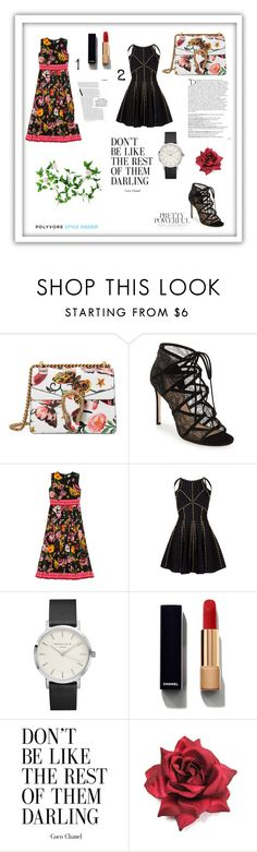 """When Gucci Shines Again"" by evelynn-cole on Polyvore featuring Gucci, Balmain, Pour La Victoire and Chanel"
