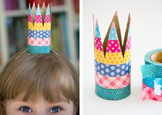 Party washi crowns