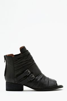 Isley Slashed Ankle Boot in Shoes Jeffrey Campbell at Nasty Gal