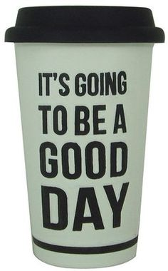 """Kohl's Sonoma life + style® """"it's going to be a good day"""" thermal mug"""