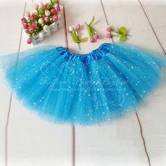 Turquoise Glitter Tutu