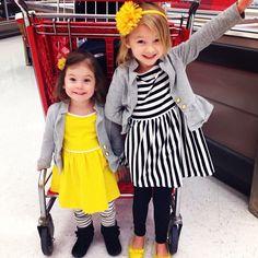 Gap striped toddler dress