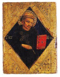 BEATO ANGELICO - Sant'Antonio da Padova - tempera e oro su tavola - c. 1424 - Museo Diocesano, Collezione Perkins, Assisi