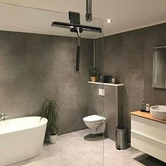 - Lilly is Love Bathroom Inspo, Bathroom Designs, Bathroom Ideas, My Room, Toilet, Ikea, Sweet Home, New Homes, Bathtub
