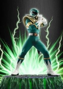 "Bandai Tamashii Nations Figuarts ZERO Green Ranger ""Mighty Morphin Power Rangers"" Action Figure"