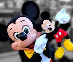 Mickey Holding Mickey