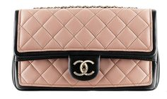 Chanel Two Tone Flap Bag #chanel #2014 #spring