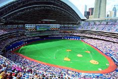 This is the perfect way to spend a summer's day, I absolutely love baseball especially the Toronto Blue Jays!!!! Photo of SkyDome/Rogers Centre taken from: Tammy Alexander #indigo #perfectsummer.