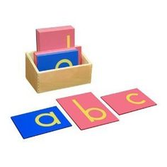 Montessori Sandpaper Letters, Lower Case Print with Box by FAC System, http://www.amazon.com/dp/B0070EM11K/ref=cm_sw_r_pi_dp_X.qmsb0YS2ZX5