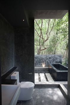 Outdoor Bathroom a balinese retreat | indoor outdoor bathroom, outdoor bathrooms