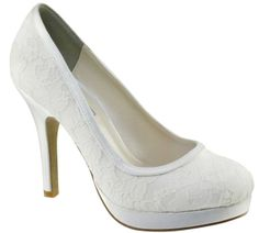 The shoes I searched high n low for for my wedding and could NOT find. Oh well next time.