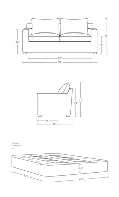 Sloan Custom Sleeper Sofa - Interior Define In Sapphire mod velvet Interior Architecture Drawing, Sofa Layout, Modern Tv Wall Units, Diy Projects Plans, Mattress Dimensions, Sofa Dimension, Buy Sofa, Guest Room Office, Bedding Sets Online