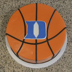Duke Basketball grooms cake- Sugarland Raleigh and Chapel Hill. REPIN FOR GLOBEMED!