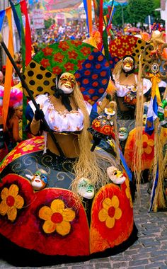 Carnaval em Pernambuco - BRASIL