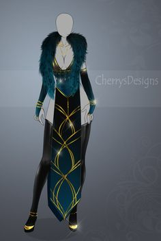 (closed) Auction Adopt - Outfit 440 by CherrysDesigns