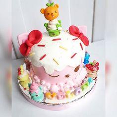 Num Nom Cake, Brithday Cake, Baking Business, Plum Cake, Ice Cream Party, Cake Shop, Buttercream Cake, Sweet Cakes, Cakes And More