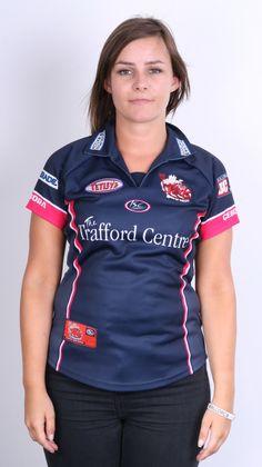 ISC Salford City Reds Womens 8 S Polo Shirt Sport Club Godliman & Watson