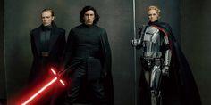 gerneral hux, kylo ren. captain phasma Gwendolyn Christie, Star Wars Vii, Star Wars Watch, Rian Johnson, Adam Driver, Last Jedi, Luke Skywalker, Vanity Fair, Cosplay Costumes