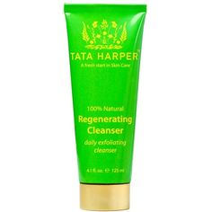 Tata Harper Skincare Regenerating Cleanser featuring polyvore, beauty products, skincare, face care, face cleansers, makeup, beauty, no color, exfoliating face wash, exfoliating facial cleanser and tata harper