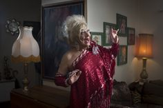 AT 82, Roger Shepard, aka #Adelaide drag queen Rouge, still has legs to die for. As seen in saweekend magazine and at Feast Festival 2013. Photo: Matt Turner