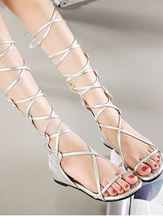 silver laces