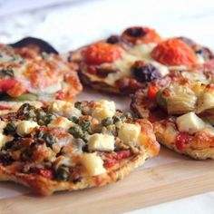 Eat guilt free pizza with these Carb Free Cauliflower Pizza Bases! Only a few ingredients and as good as the real thing!
