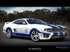 FPV Falcon Cobra by Jakusa by FutureMuscleCars.deviantart.com on @deviantART