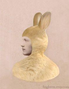 Illustration - illustration  - strange and wonderful bunnyman from frighten on etsy   illustration :     – Picture :     – Description  strange and wonderful bunnyman from frighten on etsy  -Read More –