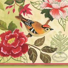"""Bird Study-Single Bird"" By Jennifer Brinley."