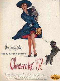 Cheesecake 52 Stockings - Dorian Leigh 1952