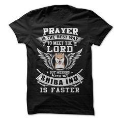 Don't Mess With My Shiba Inu T-Shirt Hoodie Sweatshirts oea