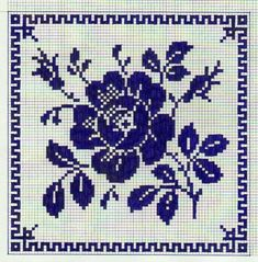 (52) Одноклассники Filet Crochet Charts, Crochet Cross, Knitting Charts, Crochet Motif, Crochet Patterns, Cross Stitching, Cross Stitch Embroidery, Embroidery Patterns, Cross Stitch Rose
