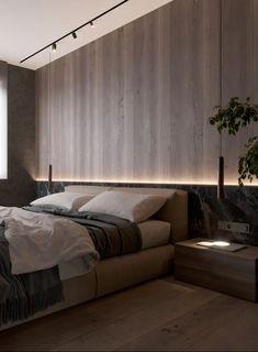 Modern Master Bedroom, Hotel Room Design, Master Bedroom Design, Home Bedroom, Modern Bedroom Furniture, Plywood Bed Designs, Camas King, Table Design, Suites