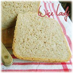 Gépikenyérsütés - Félbarna rozskenyér - Anya főztje Vanilla Cake, Bread, Desserts, Label, Food, Search, Tailgate Desserts, Deserts, Searching