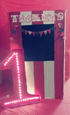 Love Sparkle Pretty: DIY projects for a vintage circus themed party!