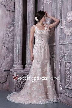 Elegant Square Beading Sweep Train Princess Lace Wedding Dress http://www.weddingdresstrend.com/en/elegant-square-beading-sweep-train-princess-lace-wedding-dress-wg8141229.html #Wedding #dress