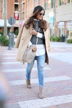 GiGi New York | Stone Jenn Bucket Bag | Natural Grain and Embossed Python Leather | Haute Off The Rack Fashion Blog