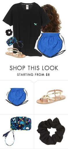 """just found this shirt for 10$"" by aweaver-2 on Polyvore featuring NIKE, Ancient Greek Sandals, Vera Bradley and Topshop"