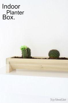 DIY indoor planter m