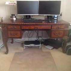 Office Desk In Themartensmoving S Garage Holly Ridge Nc For 250 Available May