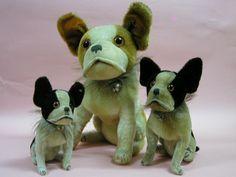 Steiff's Bully dogs