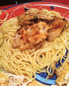College Girl, College Food: George Foreman Lemon Garlic Chicken. I JUST made this for lunch and it is delicious!!! says pinner