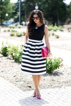 My Favorite Midi Skirt..