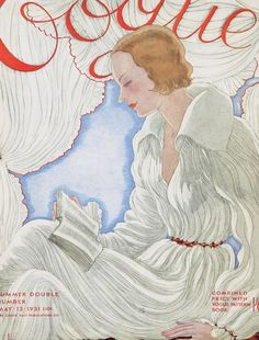 Vogue. May 13,1931. Summer double issue with the magazine combined with the Vogue Pattern Book.