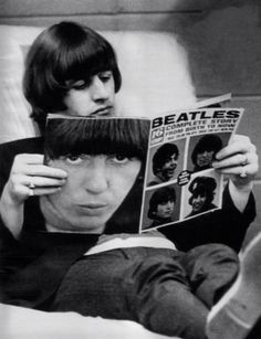 """""""My dad taught me true words you have to use in every relationship. Yes, baby"""". Ringo Starr"""