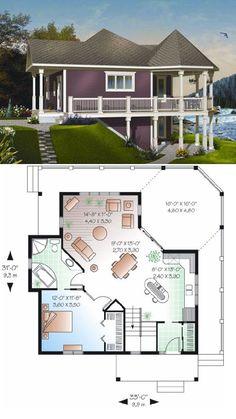 Houseplans #23-847 :: 840 sq. ft.