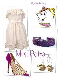 Mrs.Potts  Disney Inspired Outfits