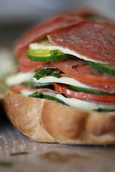 Just made this.  Pretty good. Not the best sandwich I have eaten, but it is good for something different.  Muffuletta.