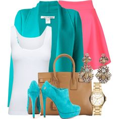 """colorful"" by fidakaq1 on Polyvore"